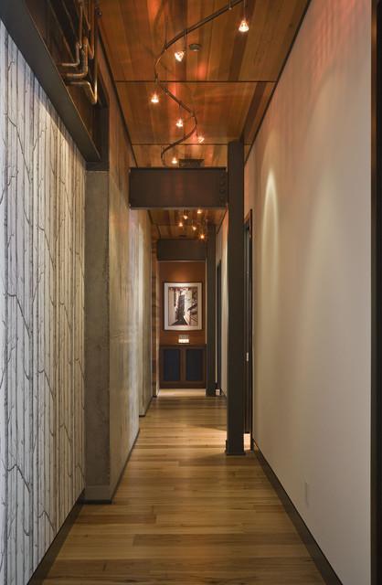 Crane Building Penthouse contemporary-hall