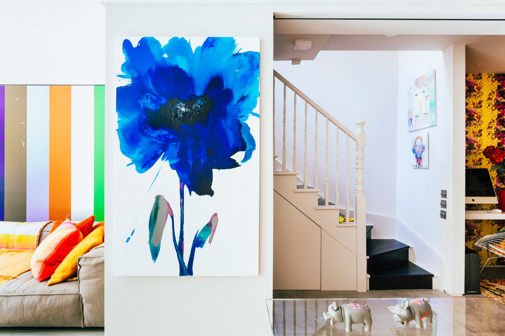 Inspiration for a hallway remodel in London