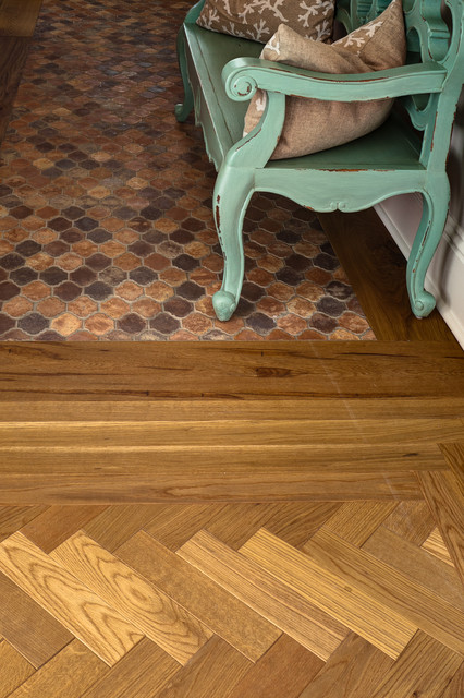 Wood Floor traditional-hall