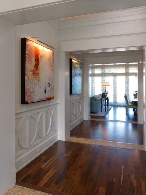 Contemporary Hall Tampa Custom Home Builders Tampa Florida - Alvarez Homes - (813) 701-3299 contemporary