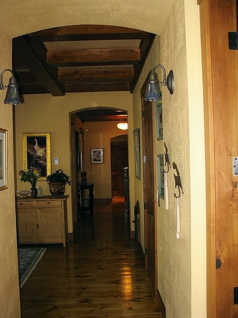 Custom Home - Pacific NW traditional-hall