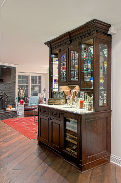 Custom Made Display Cabinet Traditional Hallway Landing Chicago By Benvenuti And Stein