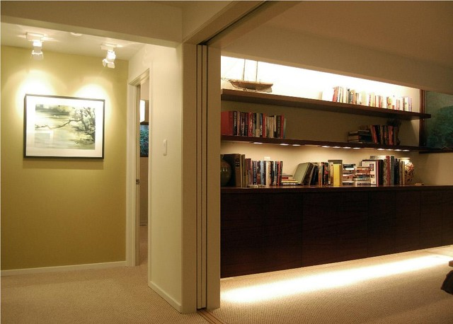 Deck House Remodel contemporary-hall