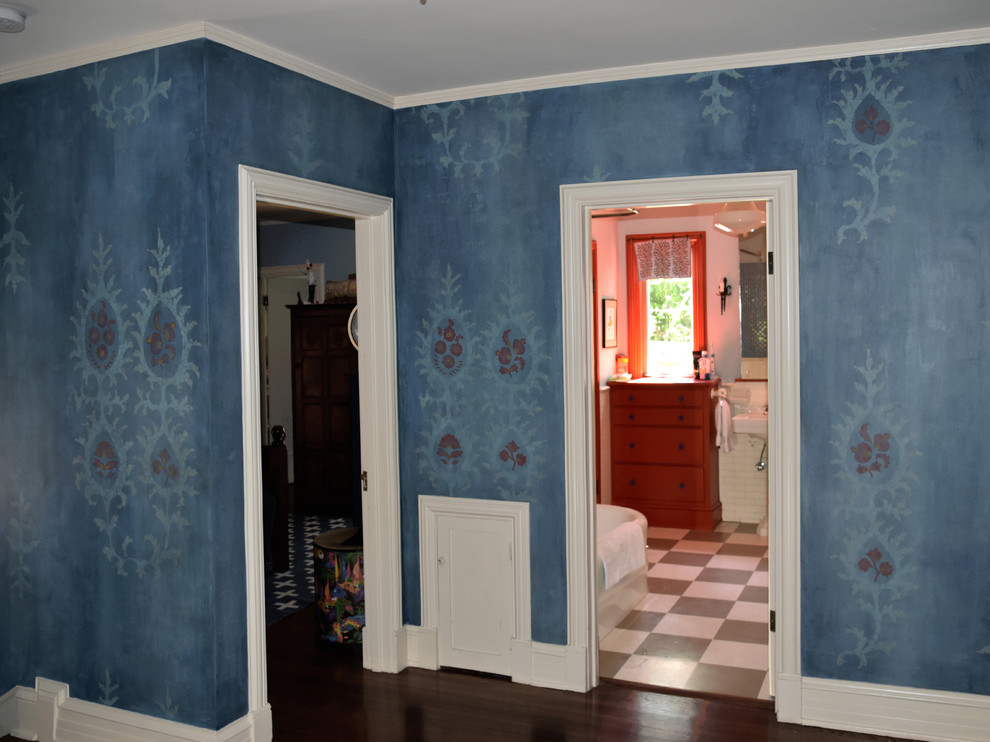 Hallway - eclectic hallway idea in Other