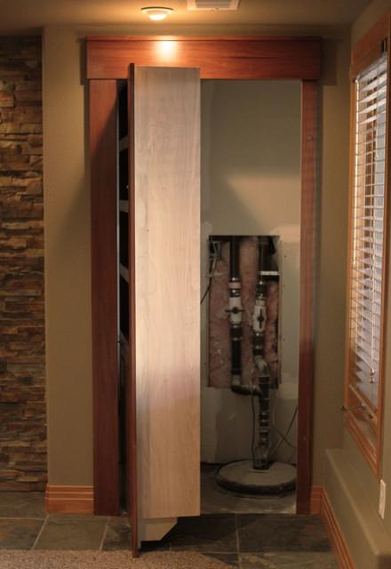 denver basement remodel traditional