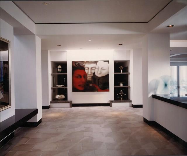 Desert Highlands Contemporary contemporary-hall