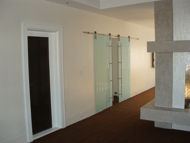 Distinctive Entries - Private residence in Muttontown, NY contemporary interior doors