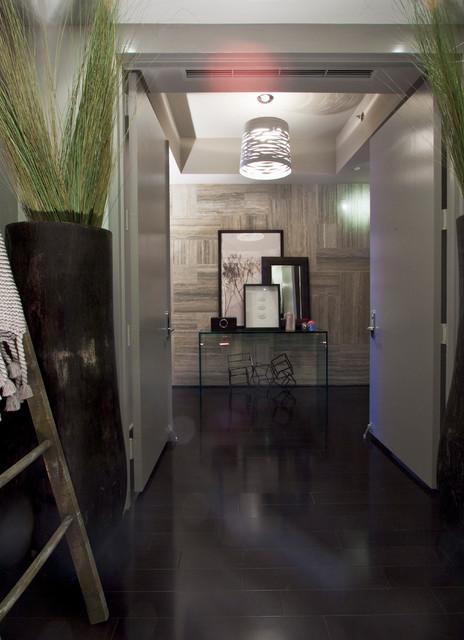 DKOR Interiors - Interior Design at the Beach Club, Miami Beach, FL contemporary-hall