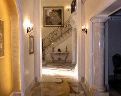 Doni Flanigan Interior Design Artist traditional-hall