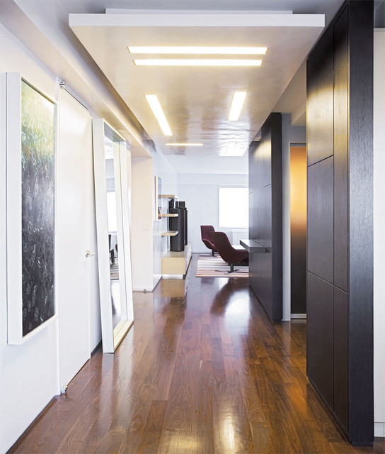 Downtown Duplex contemporary-hall