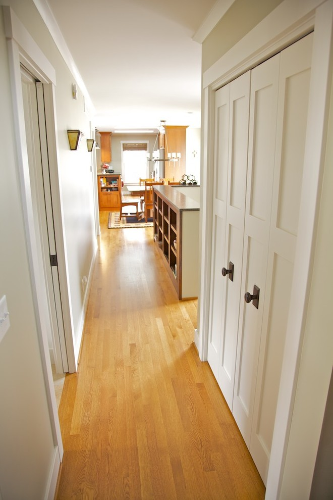 Laundry Closet Organization Hallways