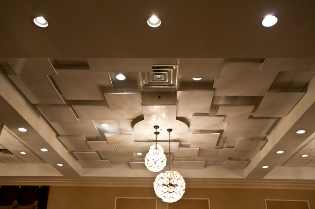 Drop Ceiling Decoration Contemporary Hall Chicago