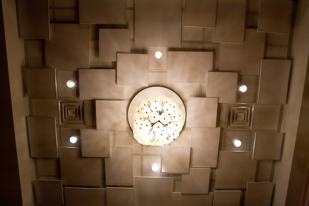 Drop Ceiling Decoration Contemporary Hall Chicago By Innovative Coverings