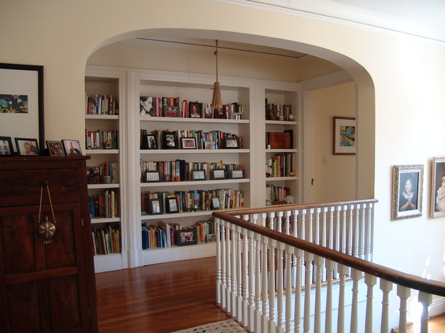 Druid Hills Upstairs Bedroom Hall Renovation traditional hall