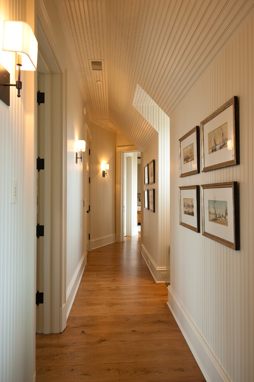 Hallway decorating ideas town country living for Hallway wall decor