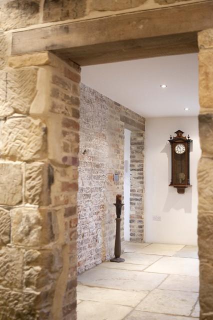 Eclectic Farmhouse Hallway farmhouse-hall