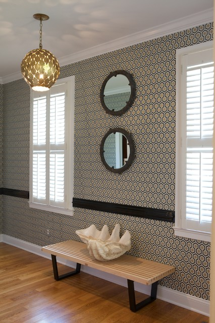 Eclectic Hall contemporary-hall