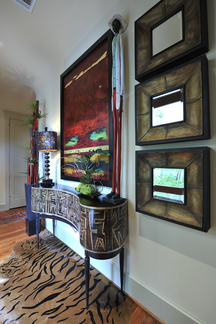 Eclectic Interior Design Phillips eclectic-hall