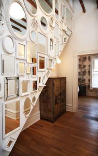 Foyer ideas using mirrors