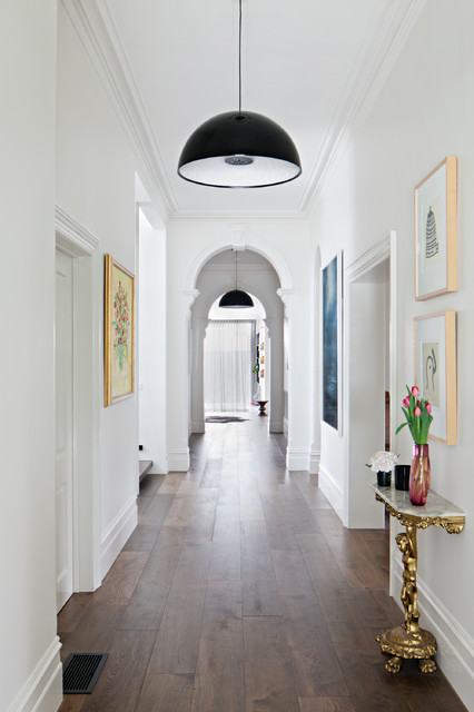 Edwardian House Victorian Hallway And Landing