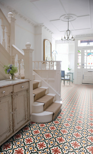 Encaustic Tile Collection Victorian Hallway And Landing