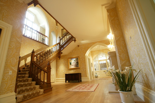 English country house traditional hallway landing for House landing
