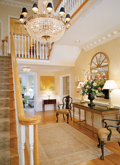English Manor House Mclean Traditional Hall Dc Metro By Ann Kenkel Interiors Dc Premiere
