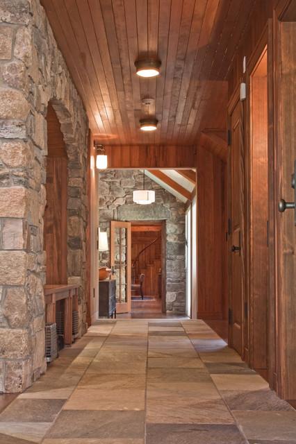 entance hall mudroom rustikal flur boston von. Black Bedroom Furniture Sets. Home Design Ideas