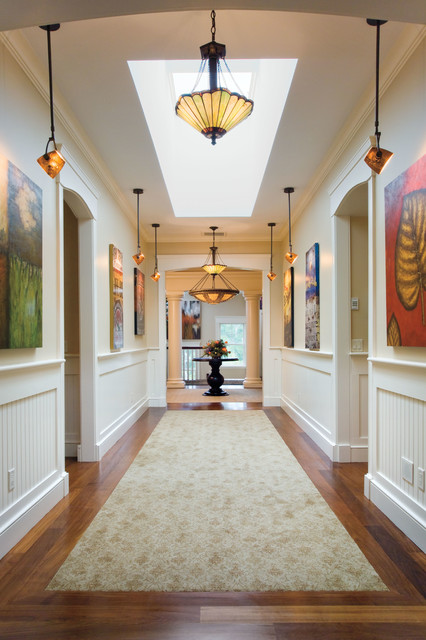 Falmouth Airpark Custom Home traditional-hall