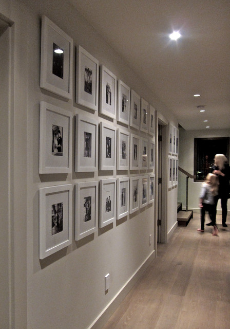 Family Gallery Walls contemporary-hall