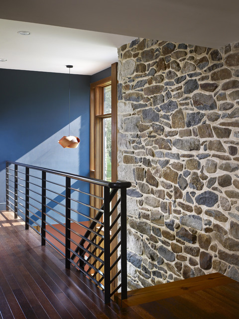 farmhouse hall by Wyant Architecture