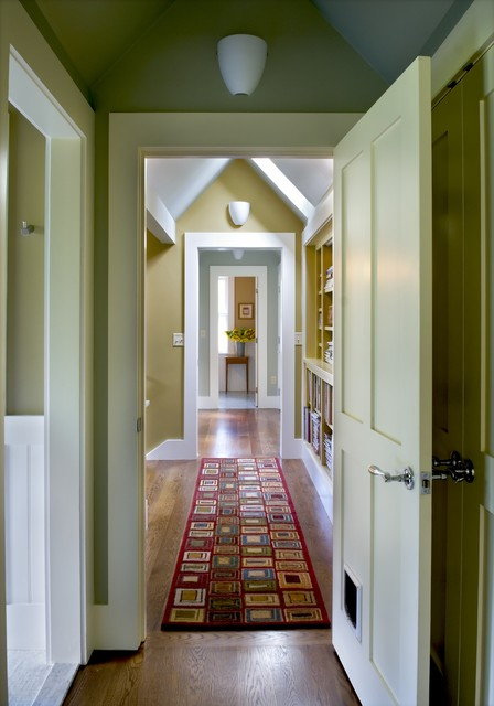 Farmhouse Reinterpreted contemporary hall