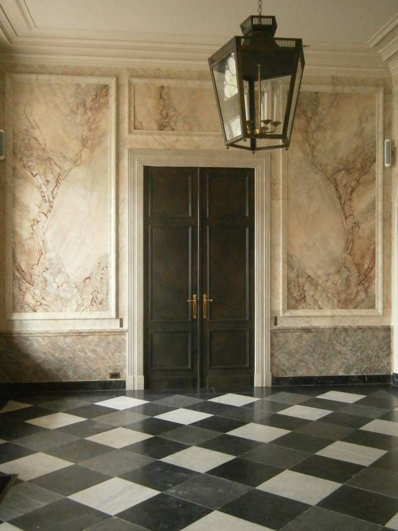 Faux Marble Wall Houzz