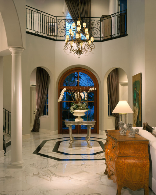 Fisher Island traditional-hall