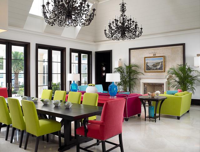 Florida Beachfront Residence - Vero Beach, USA tropical-hall