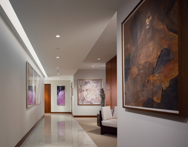 Fordham condominiums contemporary hallway landing for Dasal architectural lighting