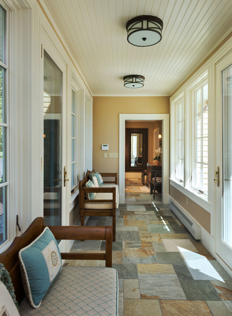 Foreside Cottage beach-style-hall