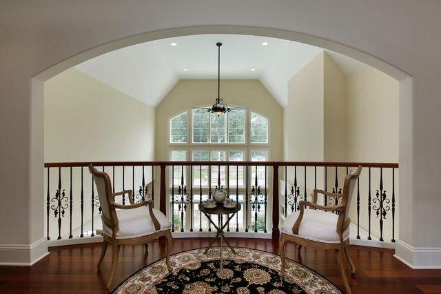 Hallway - traditional hallway idea in Denver