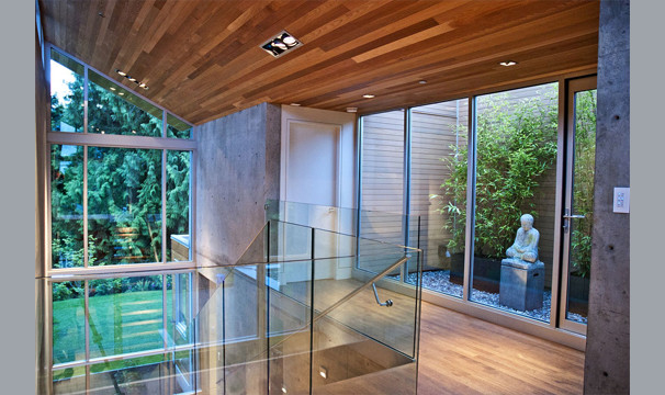 Forest House contemporary-hall