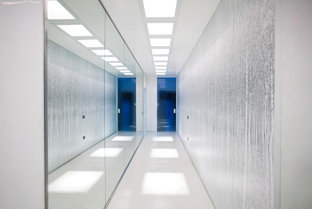 Forest photo panels contemporain couloir other metro - Deco couloir etroit ...