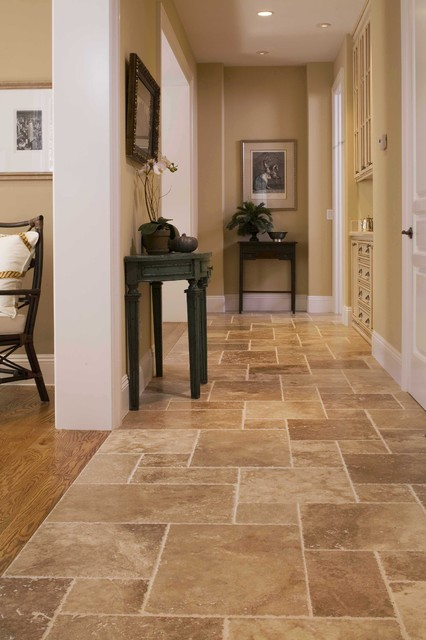 Foyer traditional hall san francisco by arch for Entrance foyer tiles