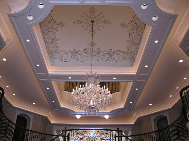 Traditional Foyer Questions : Foyer ceiling