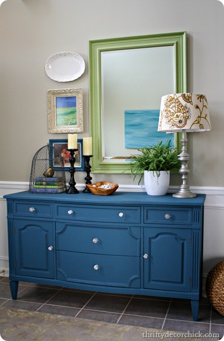 10 Ideas For Decorating With Painted Furniture Town