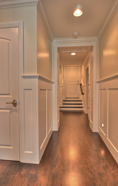 Freestone Residence traditional-hall