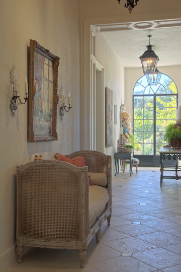 French country style for French country foyer