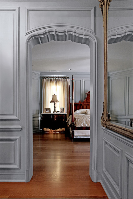 French Paneling Traditional Hall Dallas By Hull