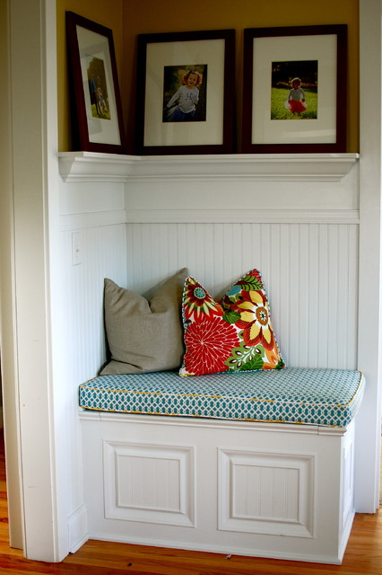 Front Hall Bench traditional-hall