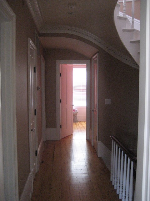 Full Renovation Of A 5 Floor 2 Family Into A Single Family – South End traditional-hall