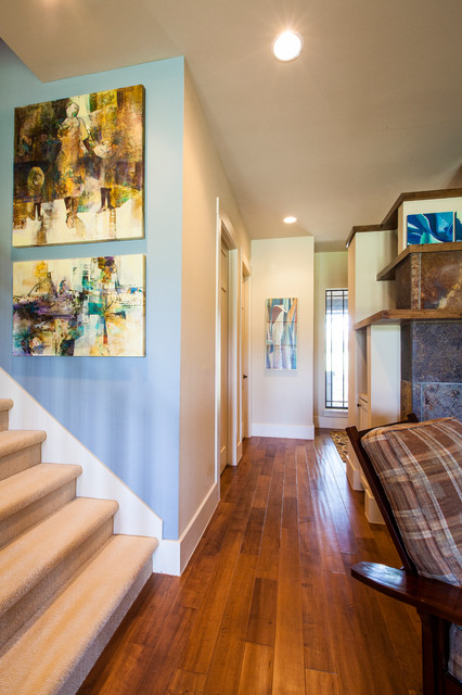 Gabriel's Overlook - Contemporary - Hall - austin - by Amanda Still ...