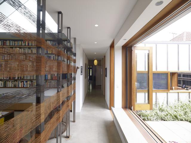 Garrett House contemporary-hall